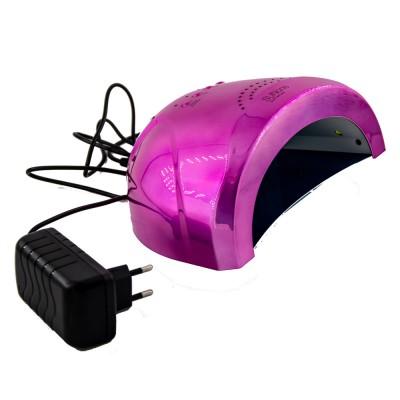 Φουρνάκι Νυχιών 3D Μεταλλικο Χρωμα  SUNone 48W  UV/LED
